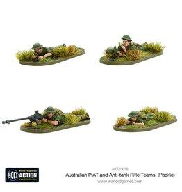 Warlord Games Australian PIAT and Anti-tank Rifle Teams