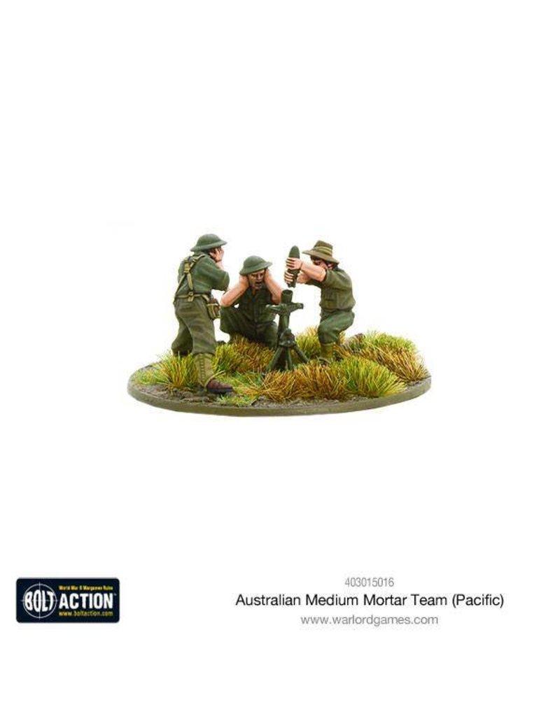 Warlord Games Australian Medium Mortar Team