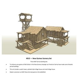Warlord Games New Guinea Buildings