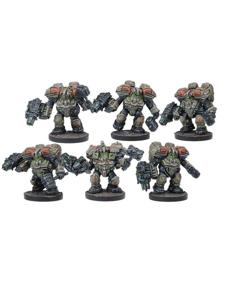 Mantic Games Warpath / Deadzone: Forge Father Hammerfist Drop Team