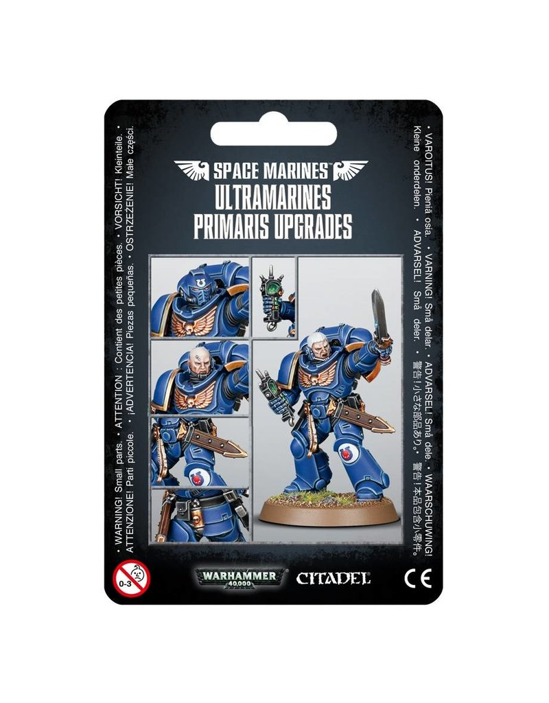 Games Workshop Space Marine Ultramarines Primaris Upgrades