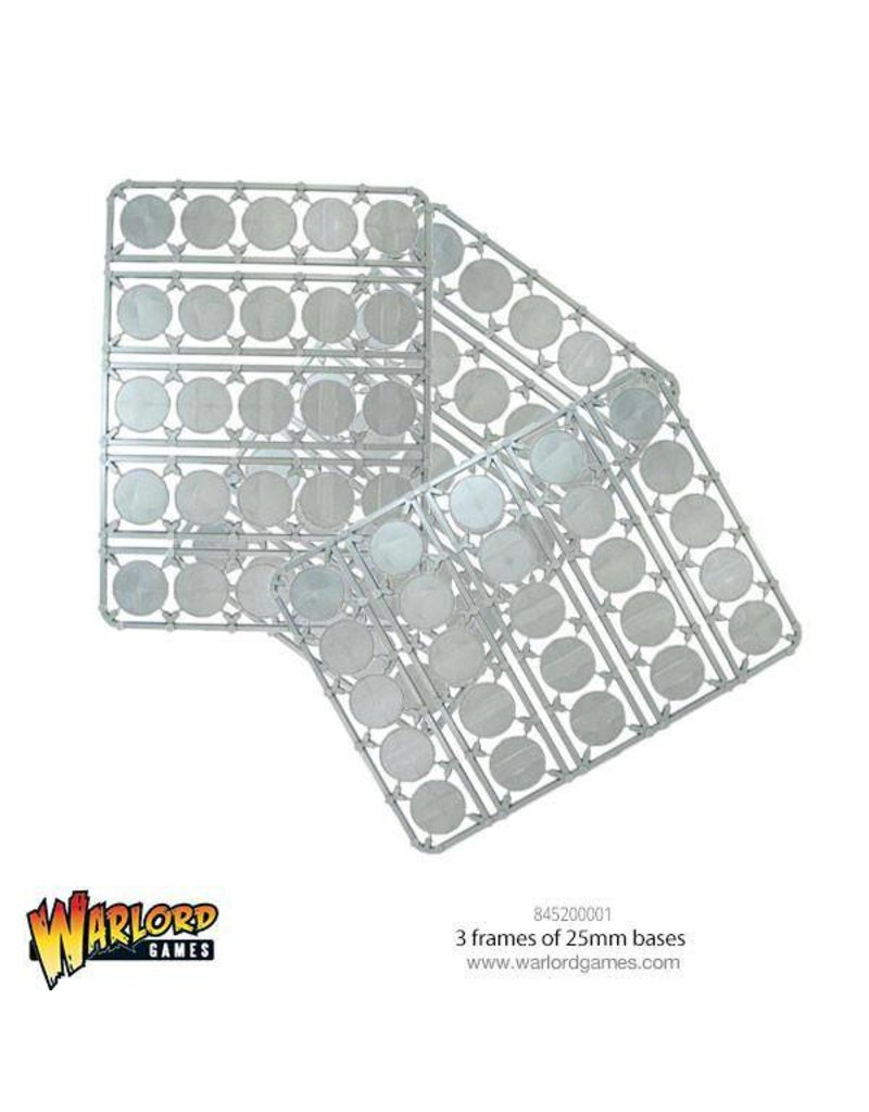 Warlord Games Bag of 25mm Round Bases