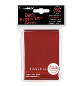 Ultra Pro Deck Protector Sleeves – Red Standard
