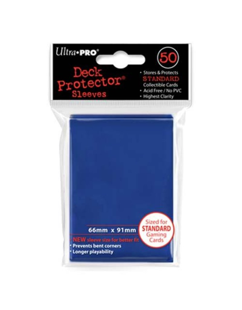 Ultra Pro Deck Protector Sleeves – Blue Standard