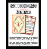 Wizards of the Coast D&D Elemental Evil Spell Deck