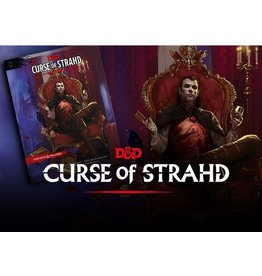 Wizards of the Coast Curse of Strahd Campaign Book