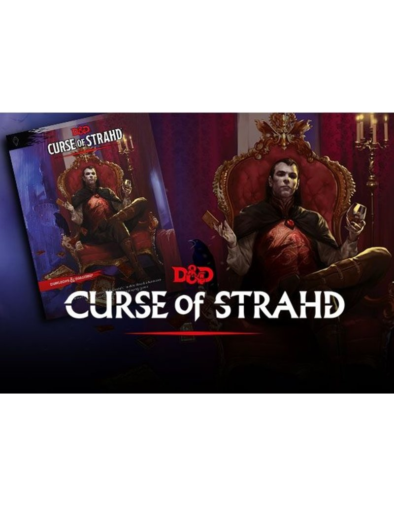 Wizards of the Coast Dungeons & Dragons: Curse of Strahd Campaign Book