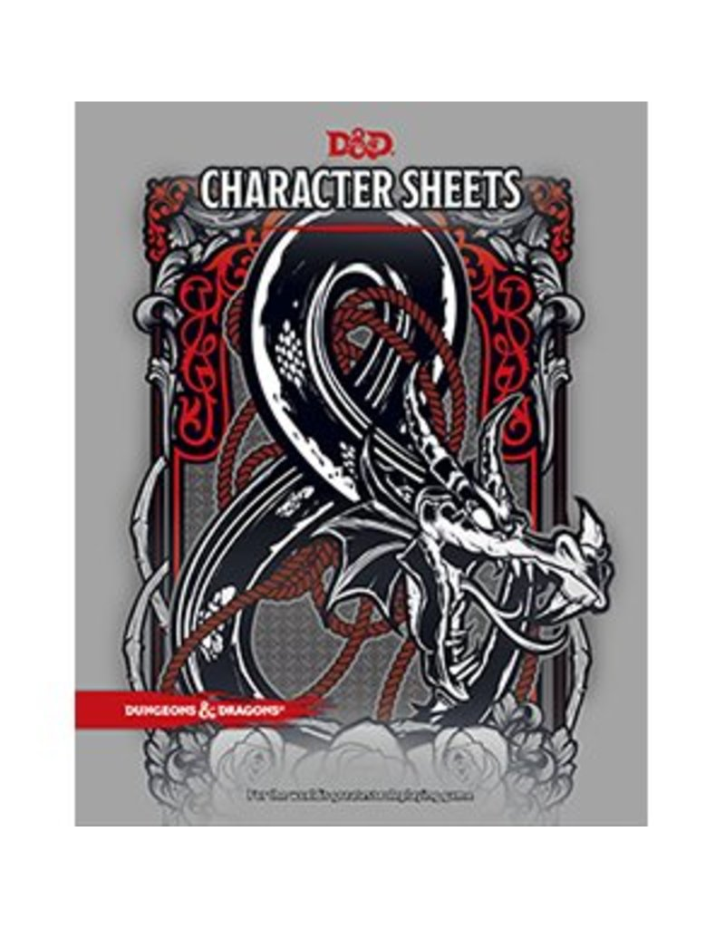 Wizards of the Coast Dungeons & Dragons Official Character Sheets