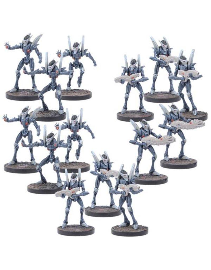 Mantic Games Warpath / Deadzone: Asterian Cypher Troops