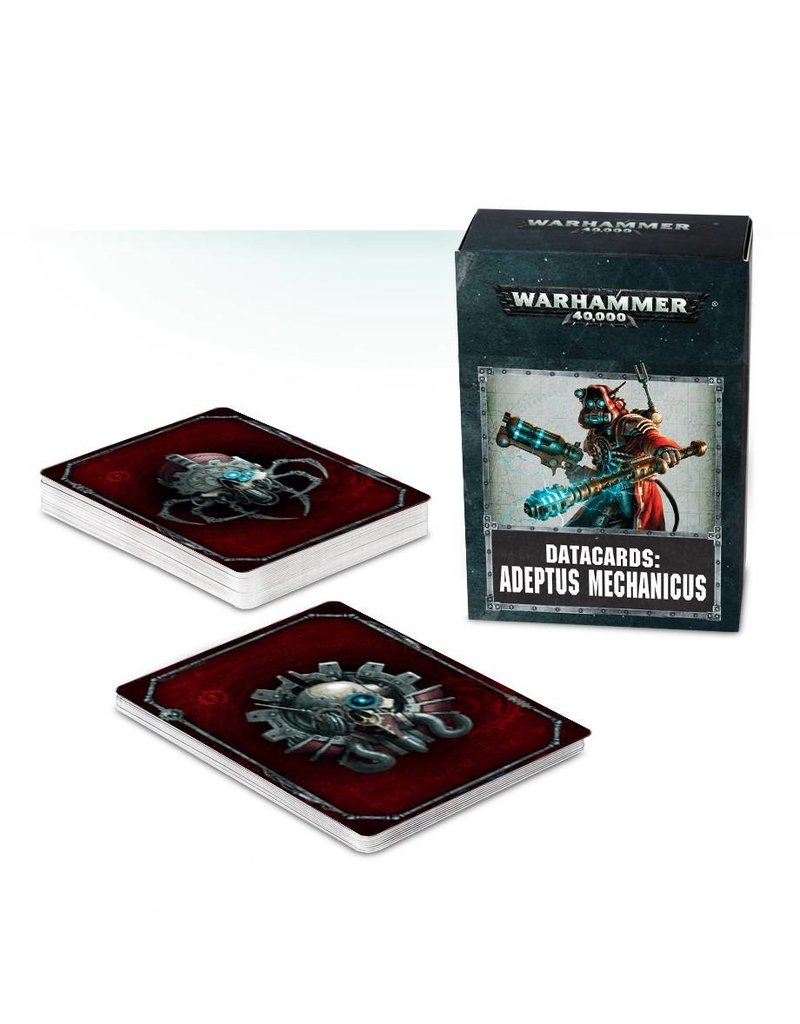 Games Workshop Datacards: Adeptus Mechanicus (EN)