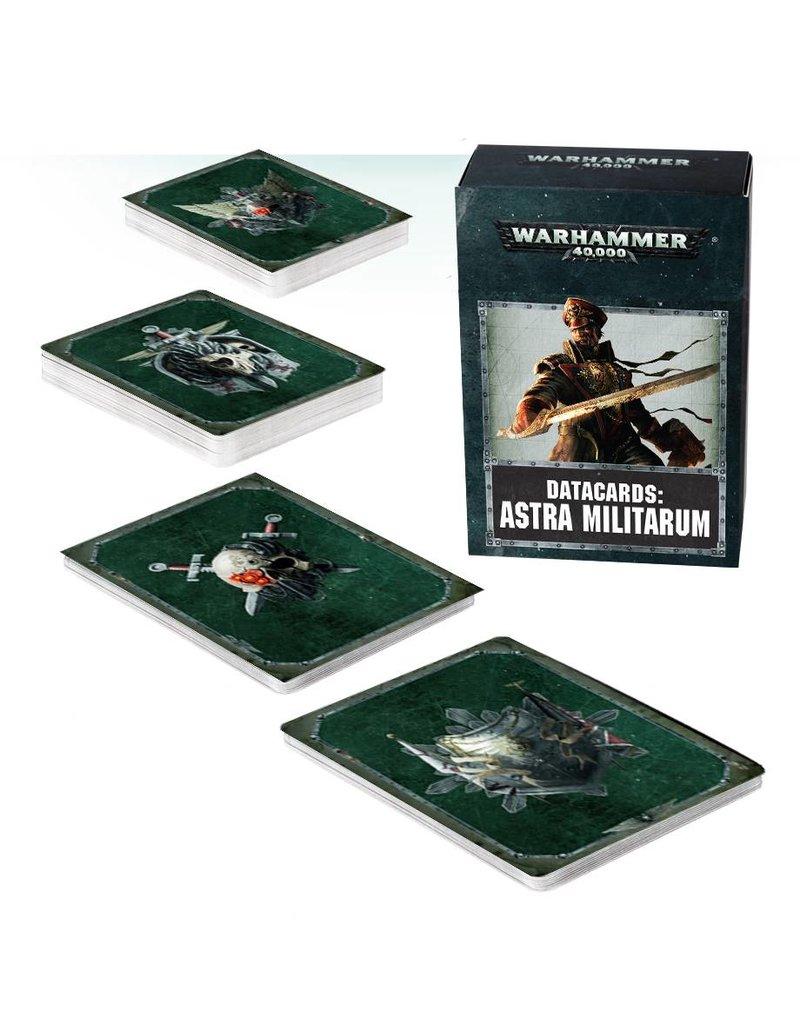 Games Workshop Datacards: Astra Militarum (ENGLISH)