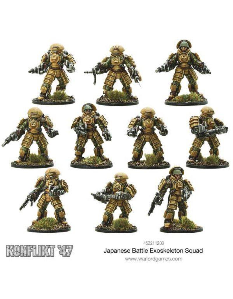 Warlord Games Japanese Battle Exoskeleton Squad