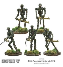 Warlord Games Automated Infantry with MMG