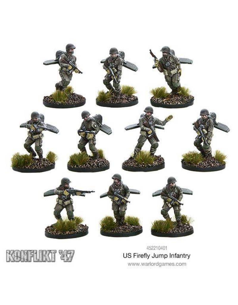 Warlord Games US Army Firefly Jump Infantry