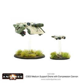 Warlord Games C3D2 Medium Support Drone with Compression Cannon