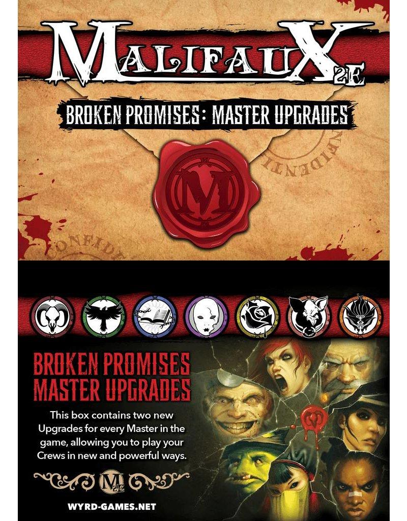 Wyrd Malifaux Broken Promises Upgrade Deck