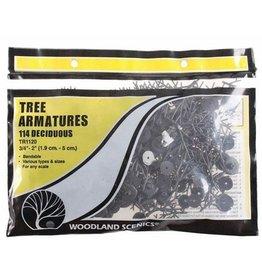 """Woodland Scenics 0.5""""-2"""" Deciduous Tree Armatures"""