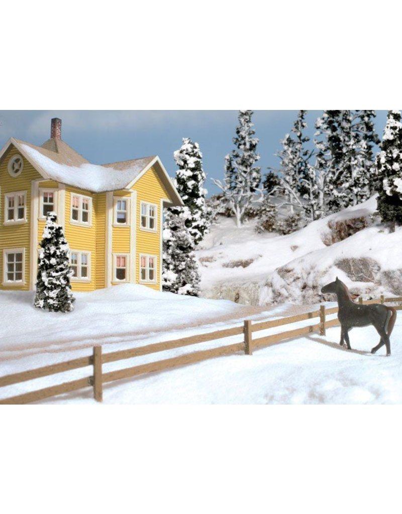 Woodland Scenics Ground Cover: Soft Flake Snow
