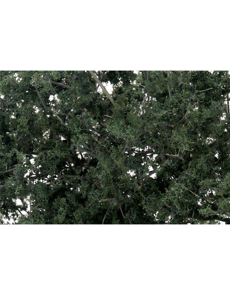 Woodland Scenics Fine Leaf Foliage: Dark Green