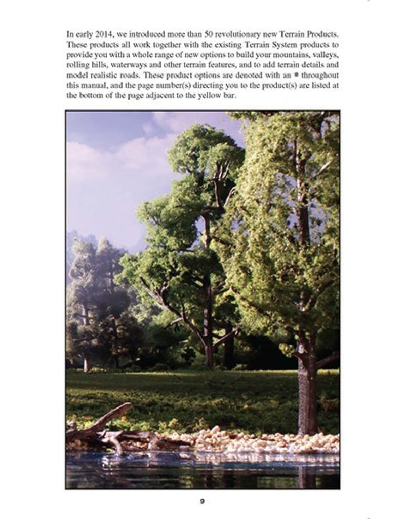 Woodland Scenics The Scenery Manual Instruction Book