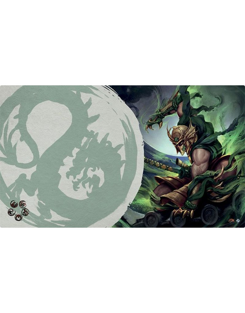 Fantasy Flight Games Legend Of The Five Rings: Master of the High House of Light Playmat