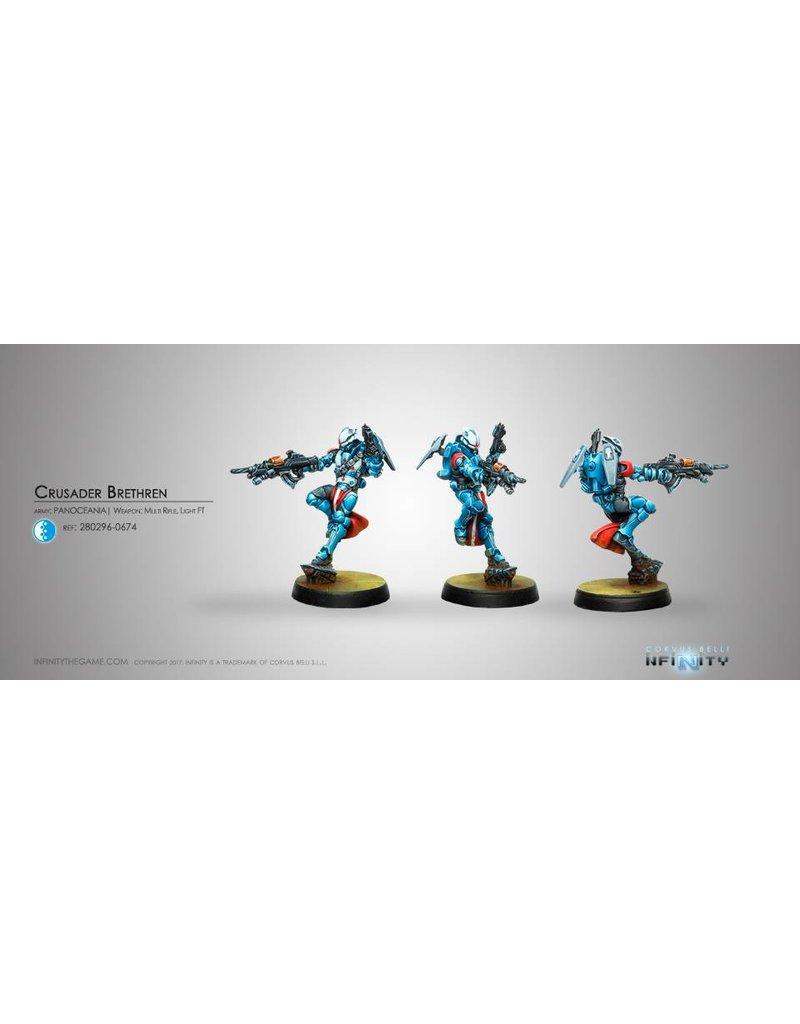 Corvus Belli Panoceania Crusader Brethren (MULTI Rifle + Light FT) Blister Pack
