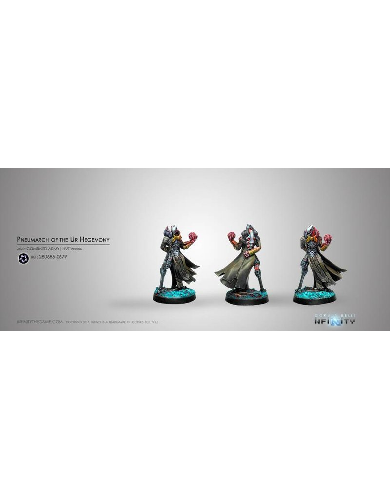 Corvus Belli Combined Army Pneumarch of the Ur Hegemony (High Value Target) Blister Pack