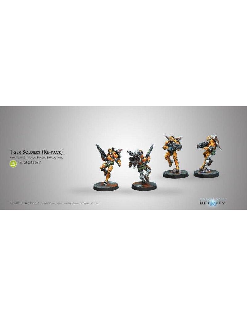 Corvus Belli Yu Jing Tiger Soldiers (Spitfire/ Boarding Shotgun) Blister Pack