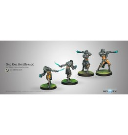 Corvus Belli Gao-Rael Unit (Spitfire / Sniper Rifle)