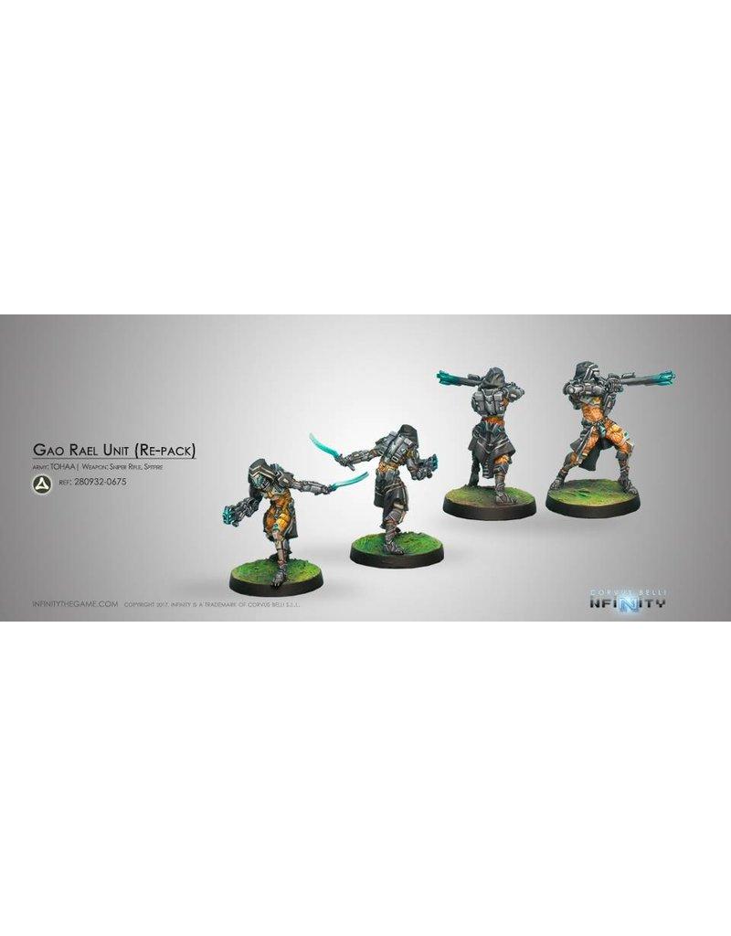 Corvus Belli Tohaa Gao-Rael Unit (Spitfire / Sniper Rifle) Blister Pack