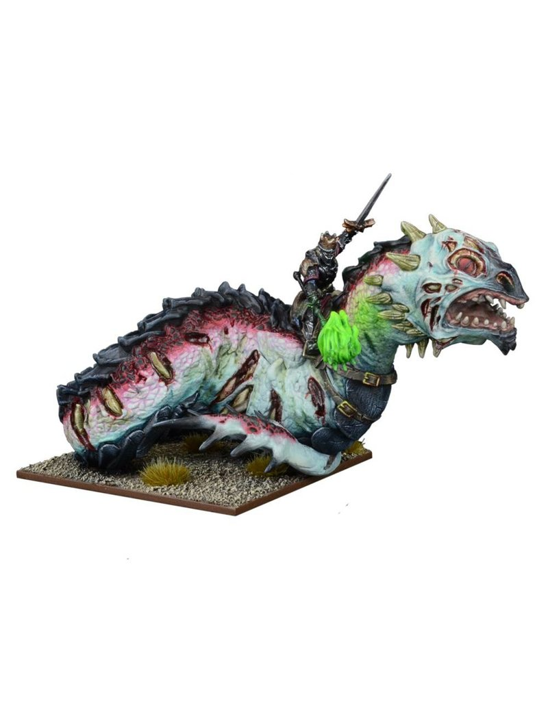Mantic Games Undead: Revenant King on Undead: Wyrm