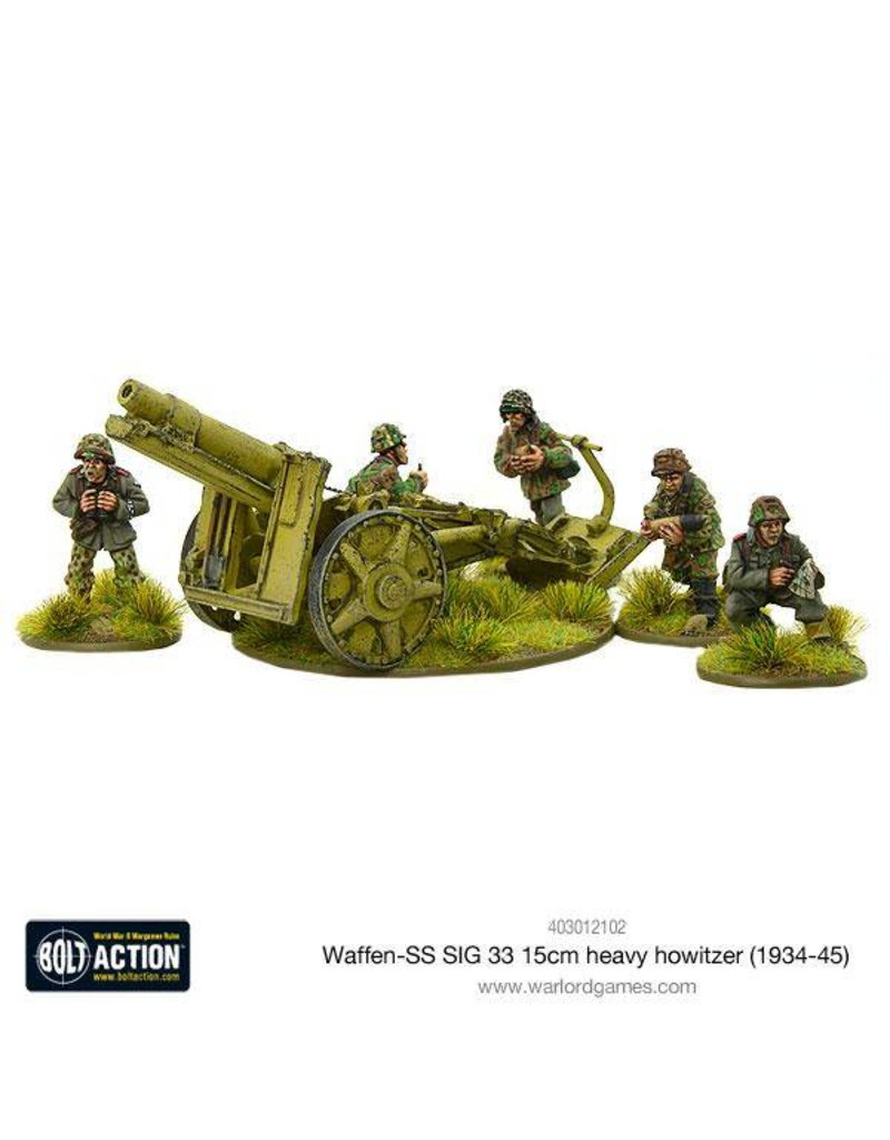 Warlord Games German Waffen-SS SIG 33 15cm heavy howitzer