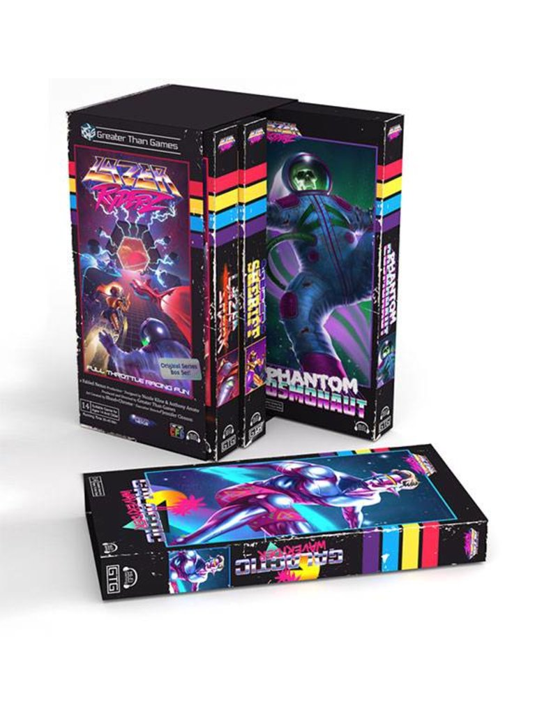 Greater Than Games Lazer Ryderz Board Game