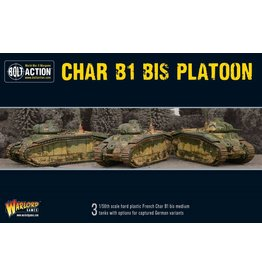 Warlord Games Char B1 bis Platoon