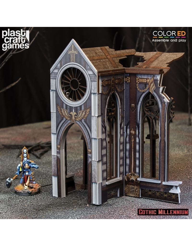 Plastcraft Cathedralis Side Porch - (Gothic Millennium Cathedral)