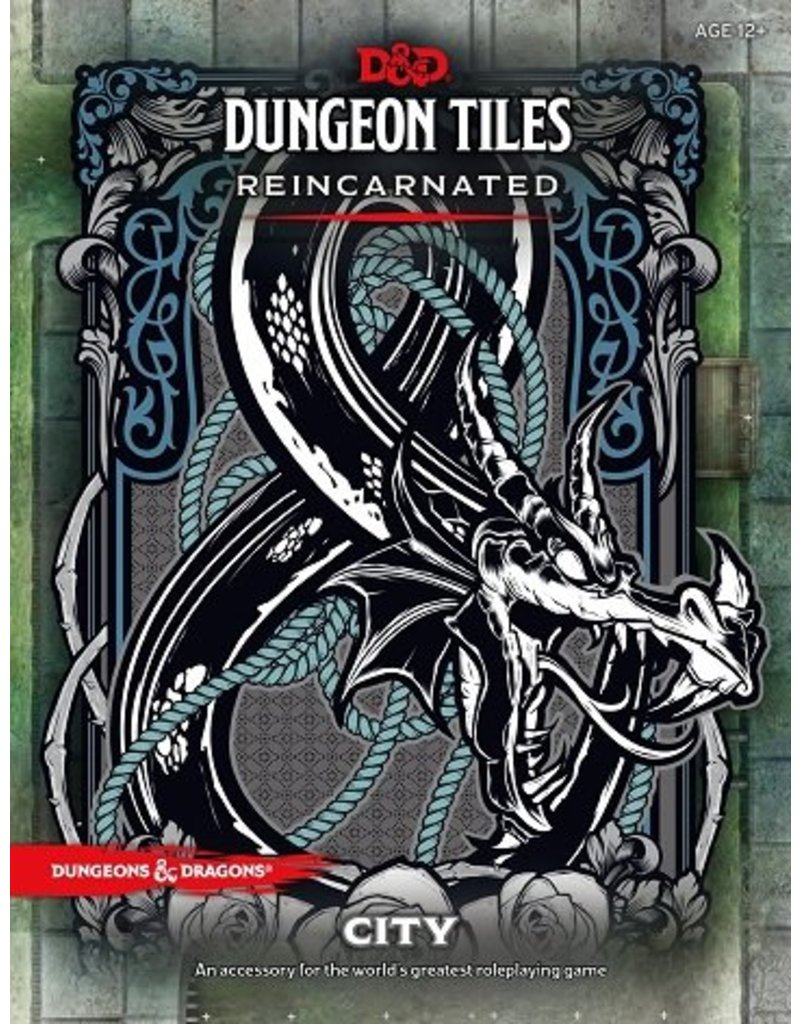 Wizards of the Coast D&D Dungeon Tiles Reincarnated: City (DDN)
