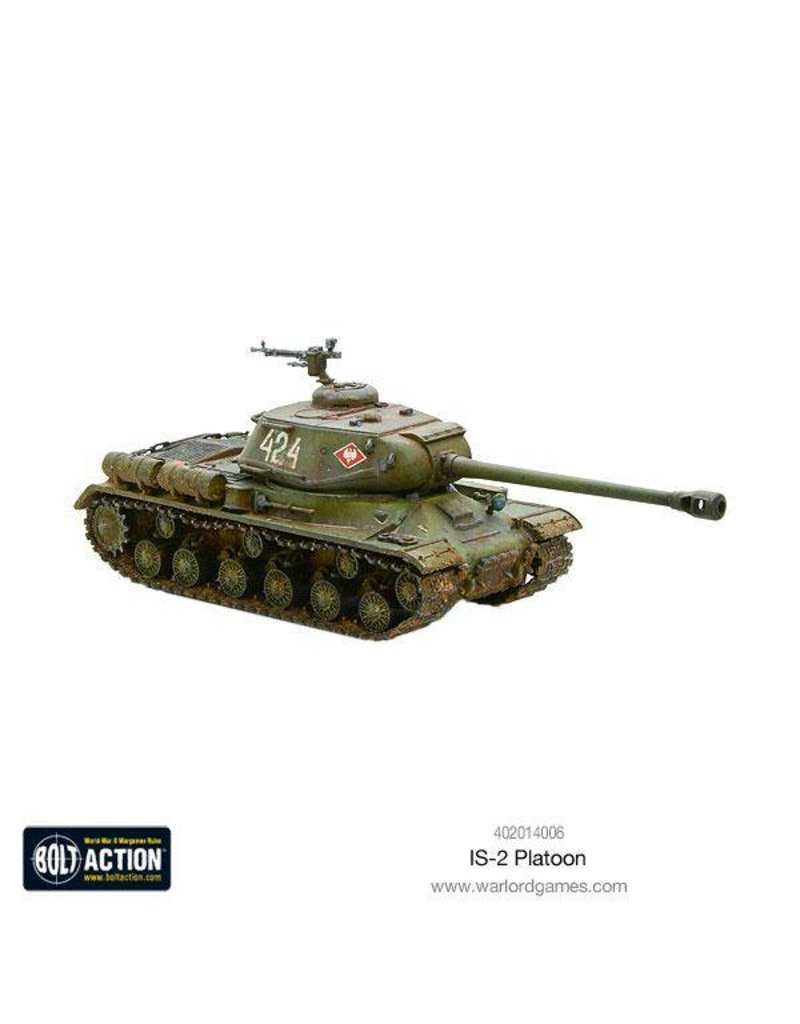 Warlord Games Soviet IS-2 Platoon