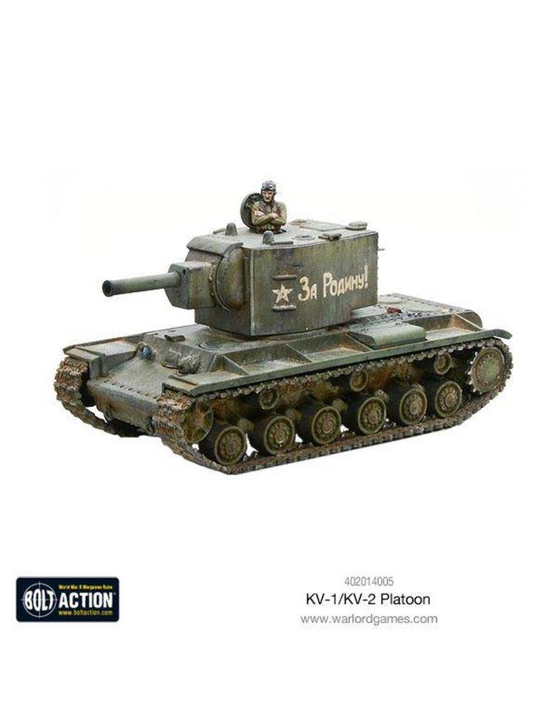Warlord Games Soviet KV1/2 Platoon