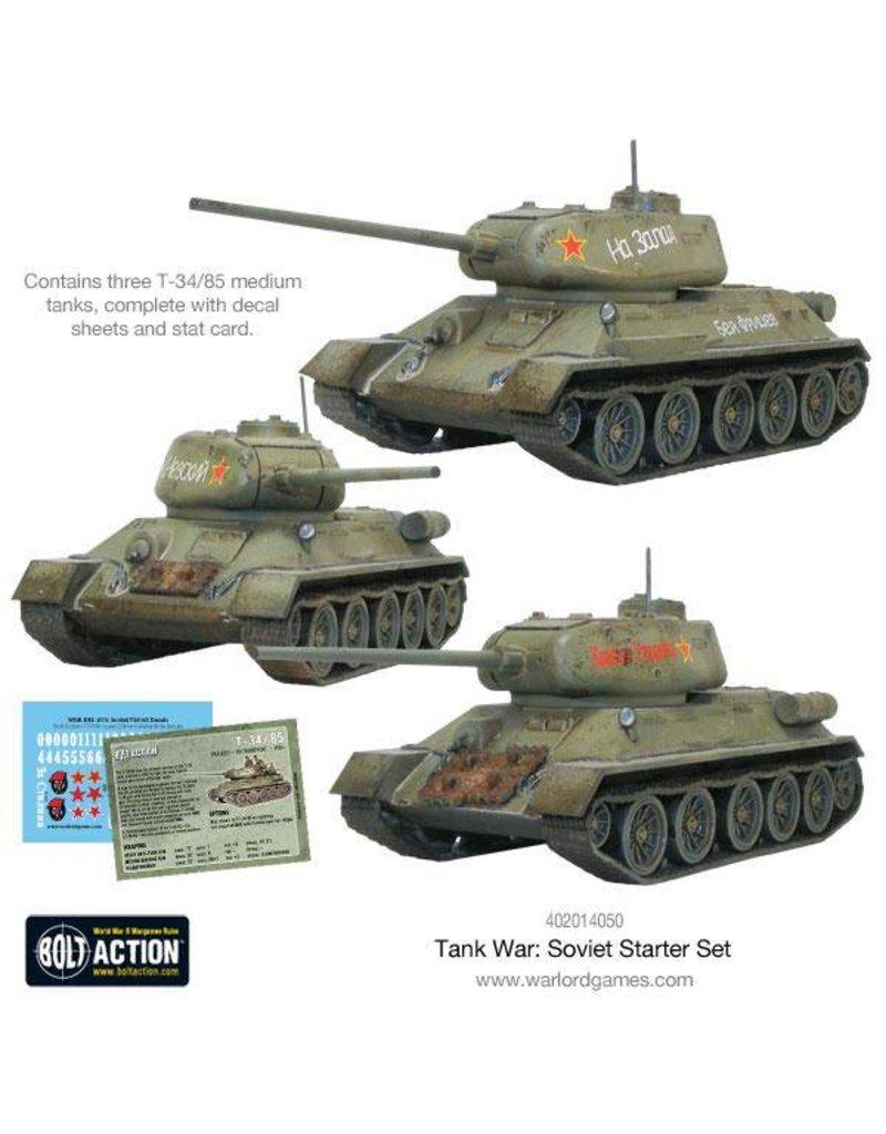 Warlord Games Tank War: Soviet starter set