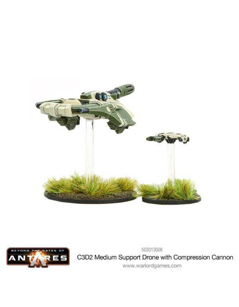 Warlord Games Concord C3D2 Medium Support Drone with Compression Cannon