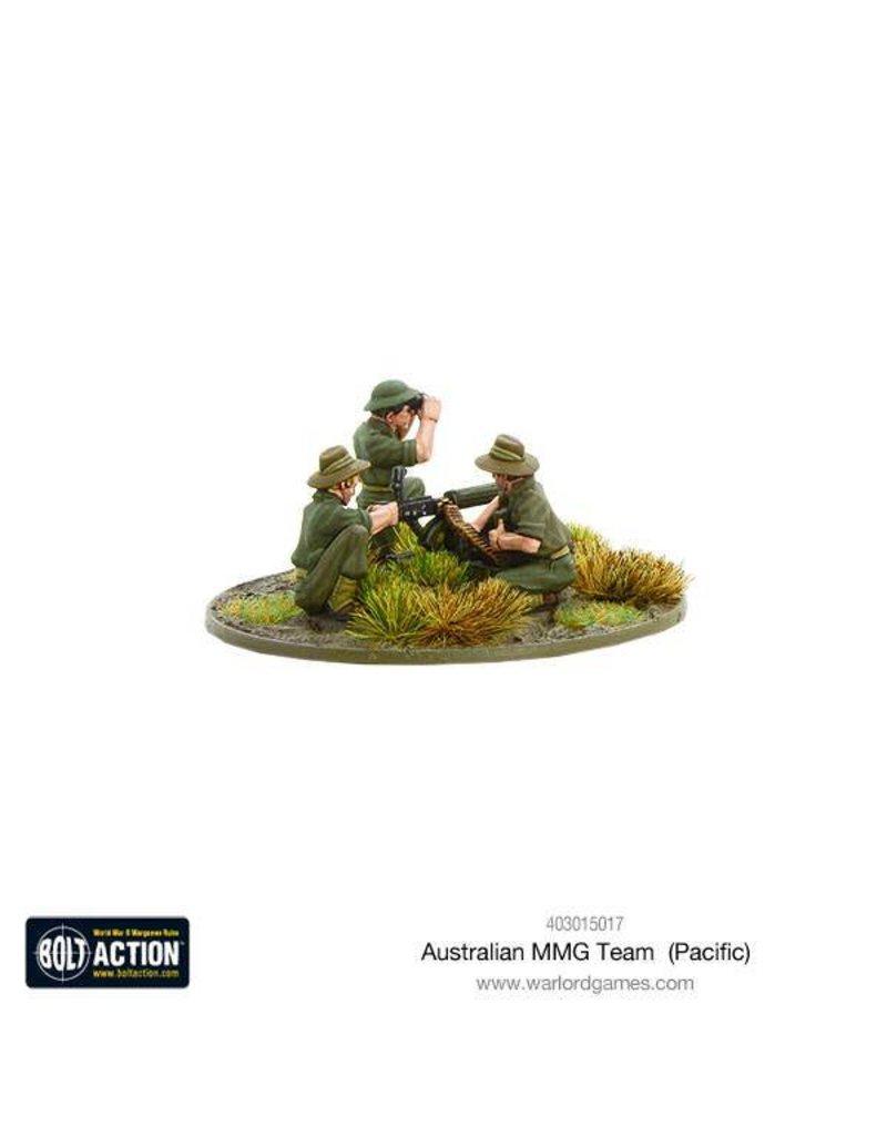 Warlord Games Australian MMG Team