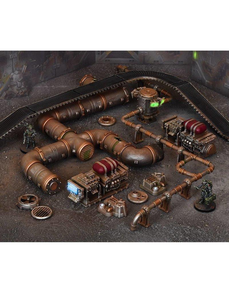 Mantic Games Terrain Crate: Industrial Accessories Scenery Box