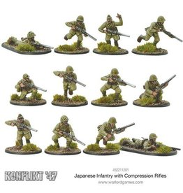 Warlord Games Japanese Infantry with Compression Rifles