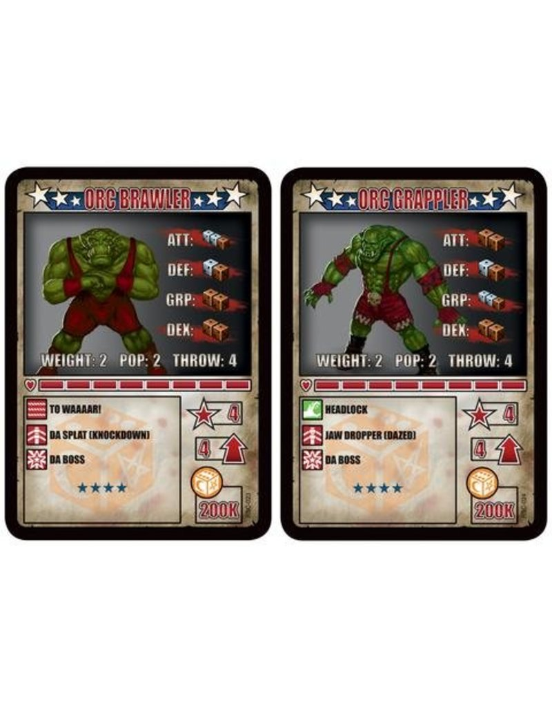 TT COMBAT Rolling Bones Orc Brawler & Orc Grappler