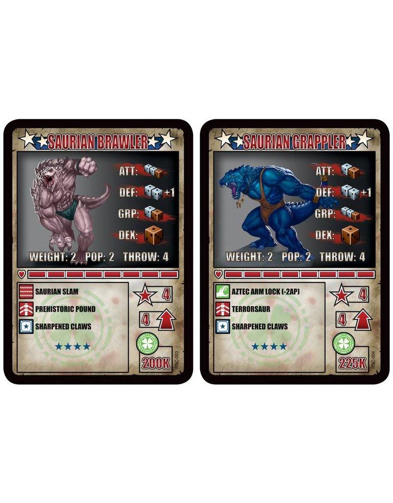 TT COMBAT The Forest Soul Saurian Brawler & Saurian Grappler