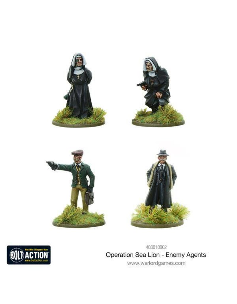Warlord Games Operation Sea Lion Enemy Agents