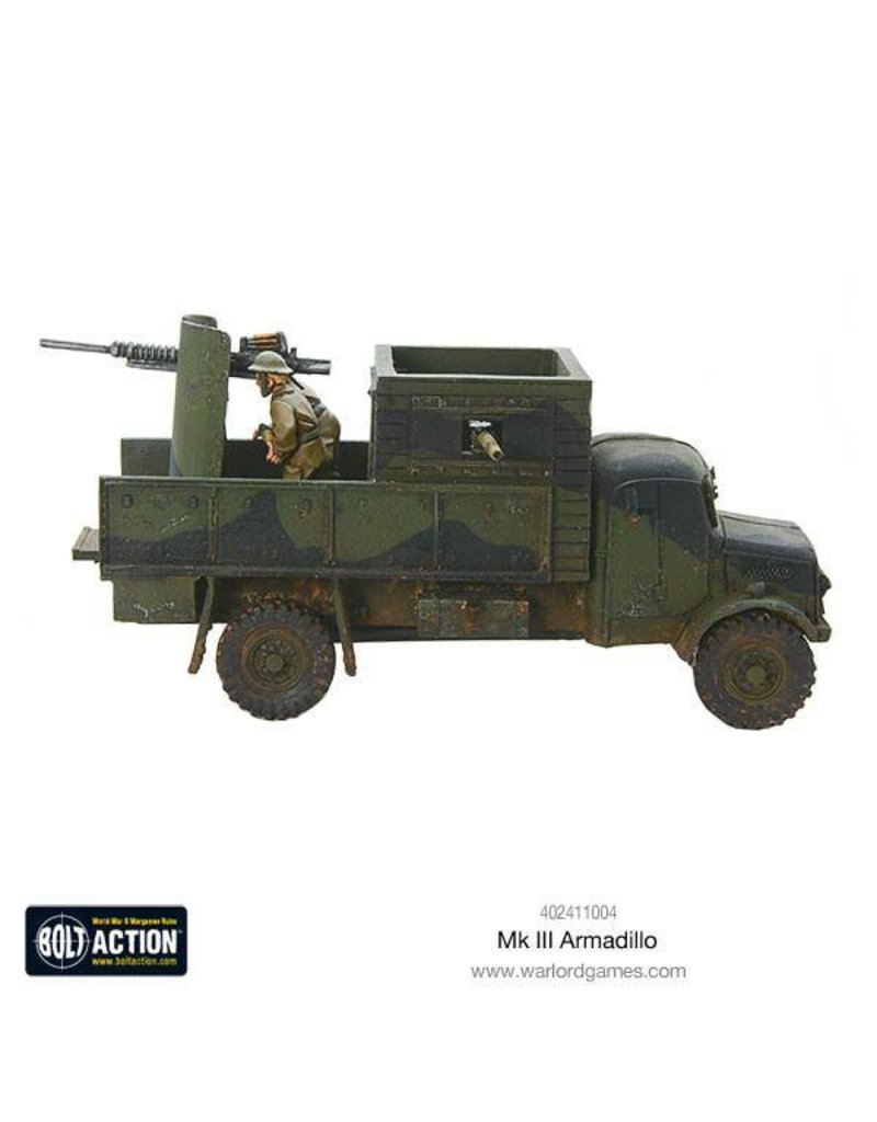 Warlord Games British Armadillo Mk 3 Improvised Vehicle (Limited release)