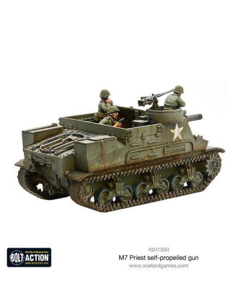 Warlord Games British Army M7 Priest self-propelled gun