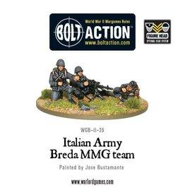 Warlord Games Italian Breda MMG team