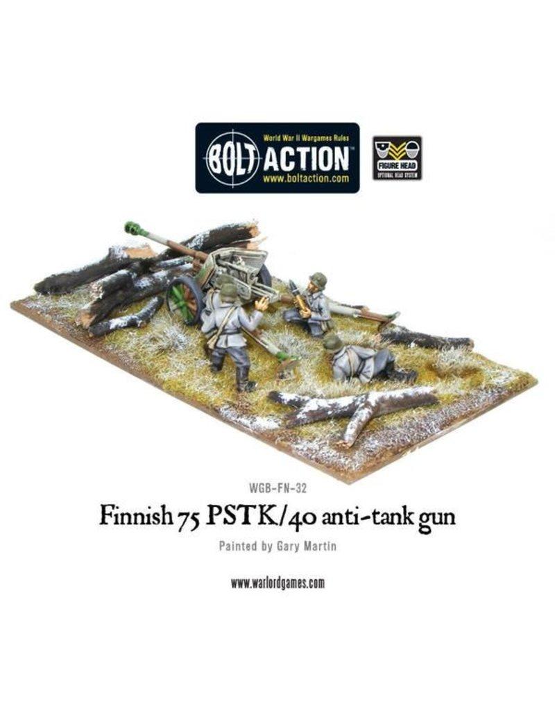 Warlord Games Finnish Army 75 PSTK/40 Anti-Tank Gun